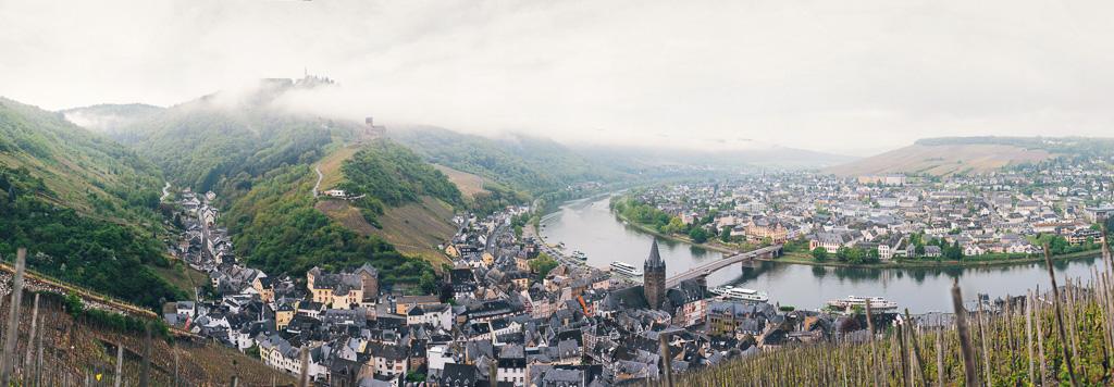 Panorama Bernkastel Mosel