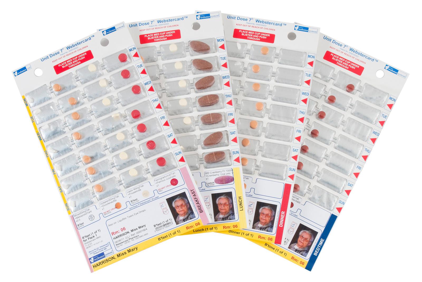 Unit Dose 7® Webstercard®