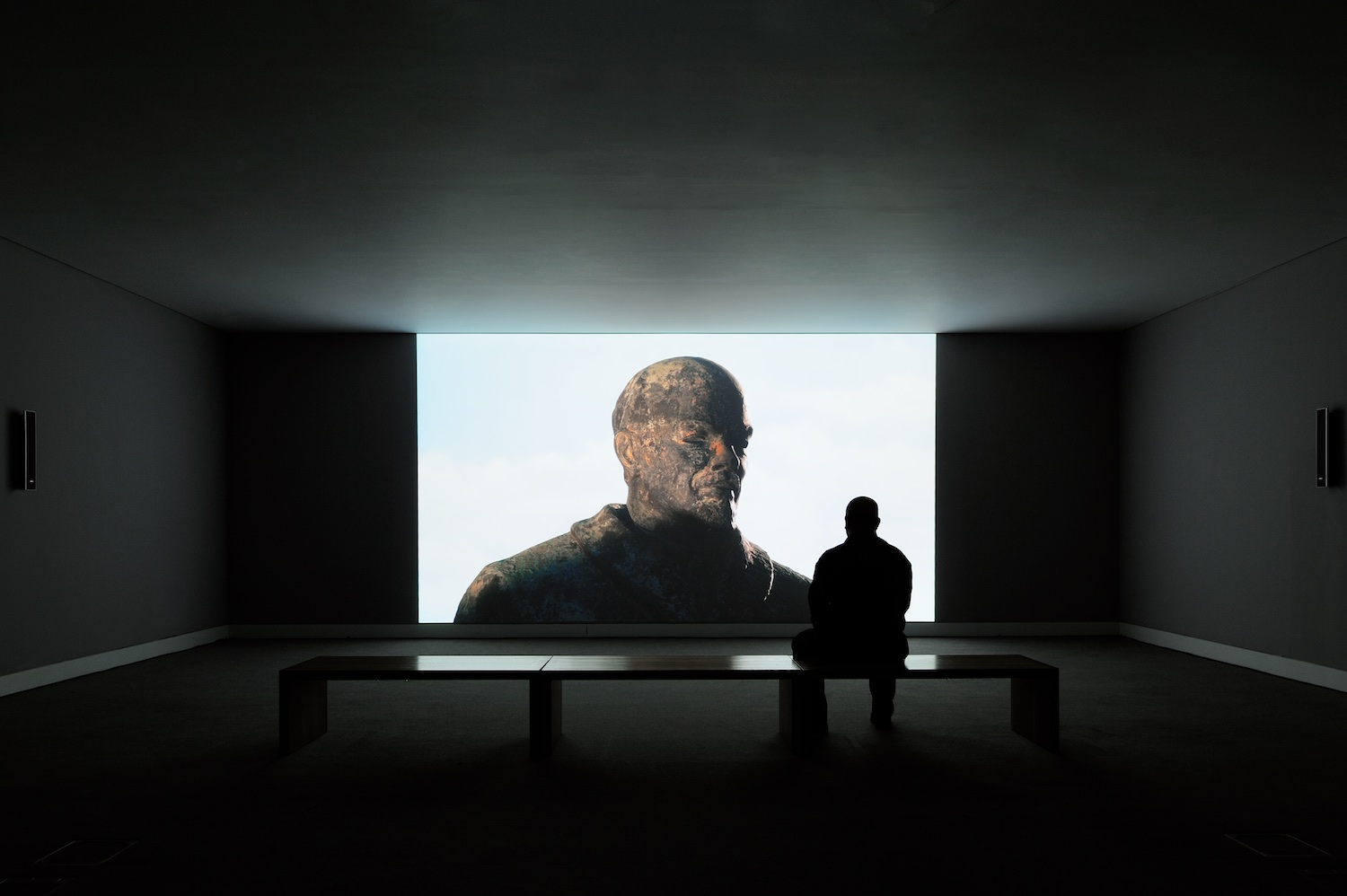 Carey Young, 2010, HD video, 10 minutes 21 seconds, Installation view at mima, Middlesbrough. Photo: Thierry Bal