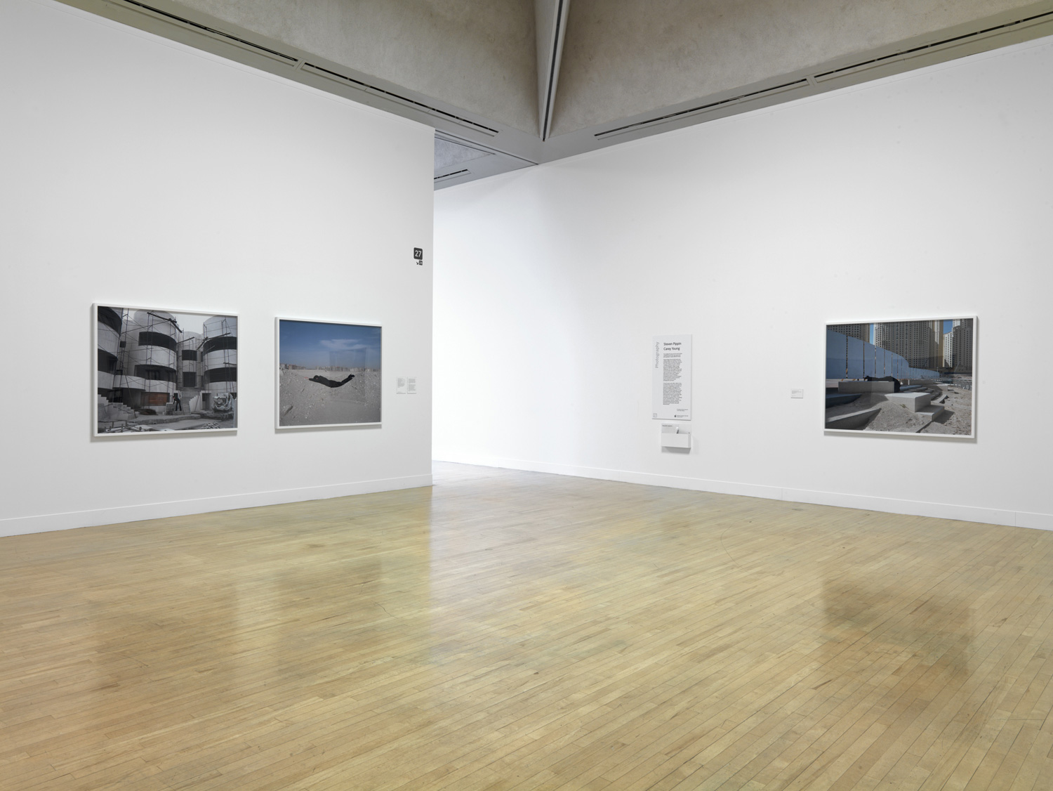 Body Techniques series as installed at Tate Britain, 2010.