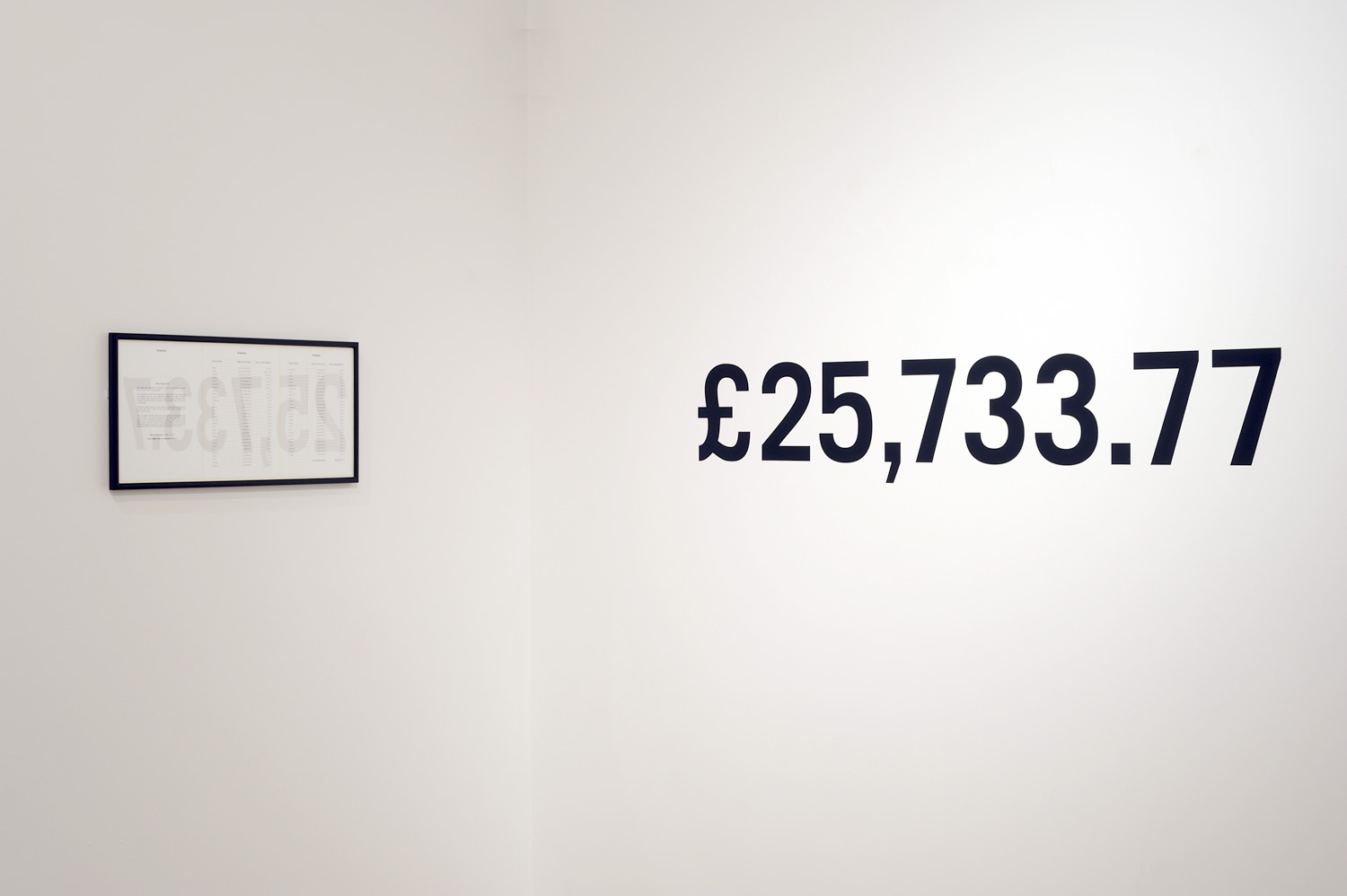 Inventory as installed at mima, Middlesbrough, 2011.