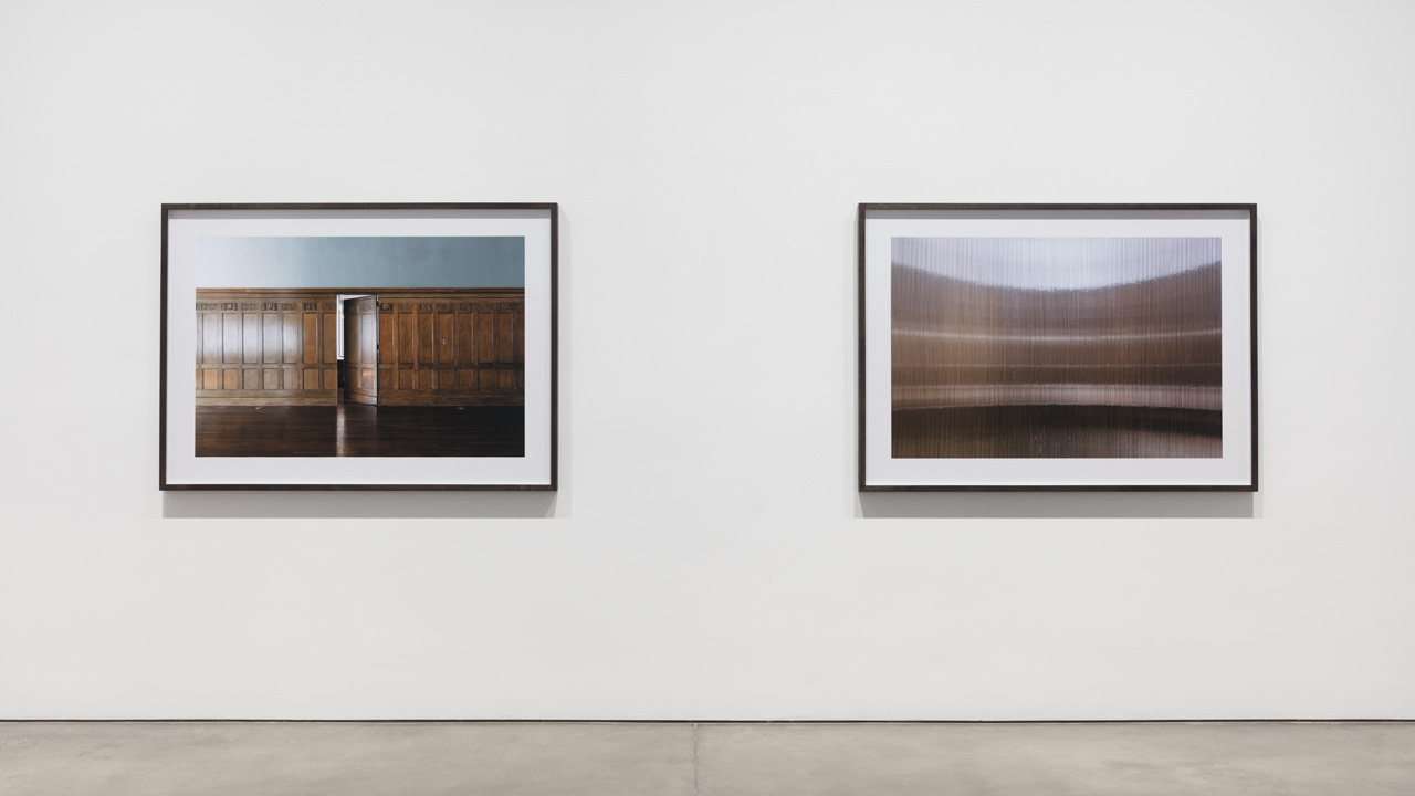 Installation view at Paula Cooper Gallery, New York, 2017. Photo: Stephen Probert