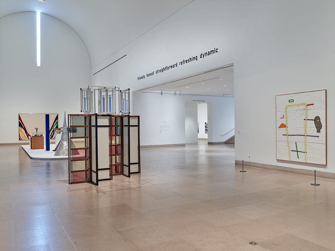 Installation view at Dallas Museum of Art