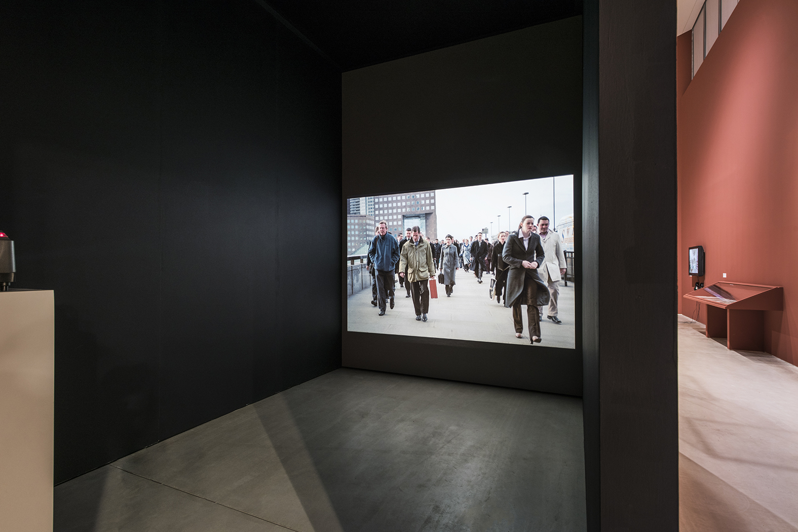 'Lines Made by Walking, as installed at Turner Contemporary, Margate, 2018