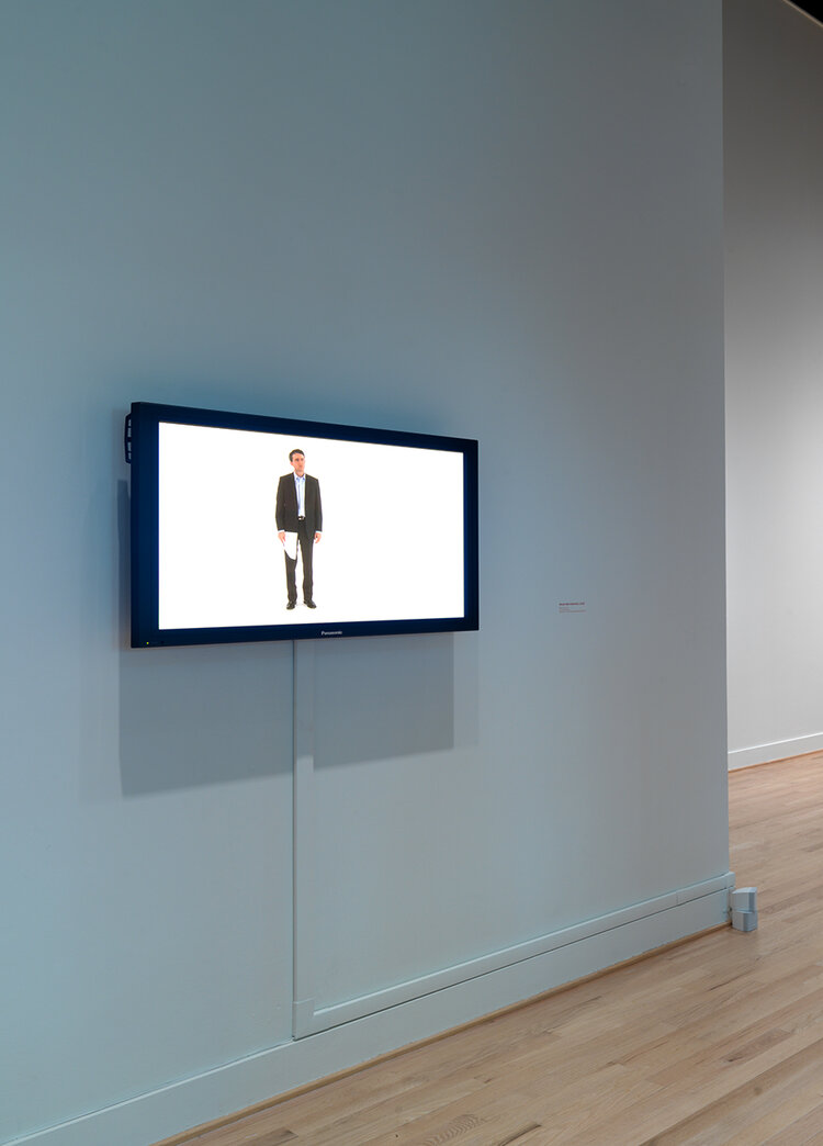 'Uncertain Contract' as installed at the Museum of Art, Rhode Island School of Design.
