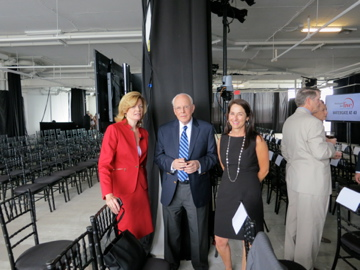 With Mary Jordon of the  Washington Post , John W. Dean, Nixon's White House counsel, and Joanna Connors (my spouse) of the  Cleveland Plain Dealer , preparing for the  Washington Post's  commemoration of the 40th anniversary of the Watergate break-in on the top floor of the Watergate in June 2012.  Ben Bradlee, Bob Woodward, Carl Bernstein, among others, attended.  http://www.watergatecle.com.