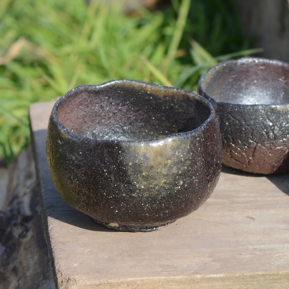 Wood fired local clay mix. Fired for 72 hours with local spruce wood.