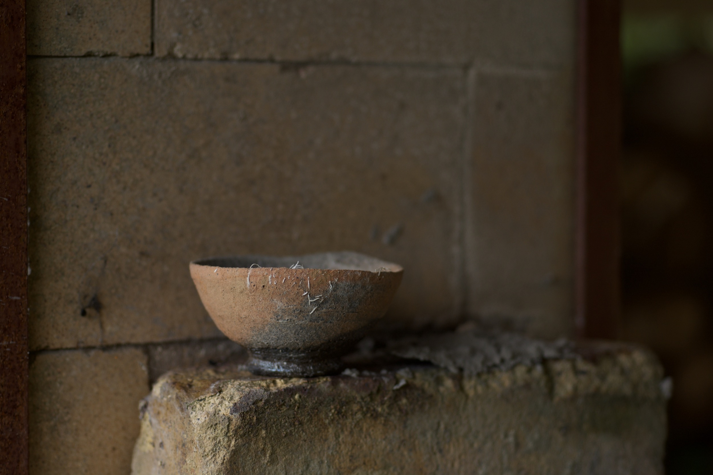 wood fired, sake cup, native clay, davidholden.ie