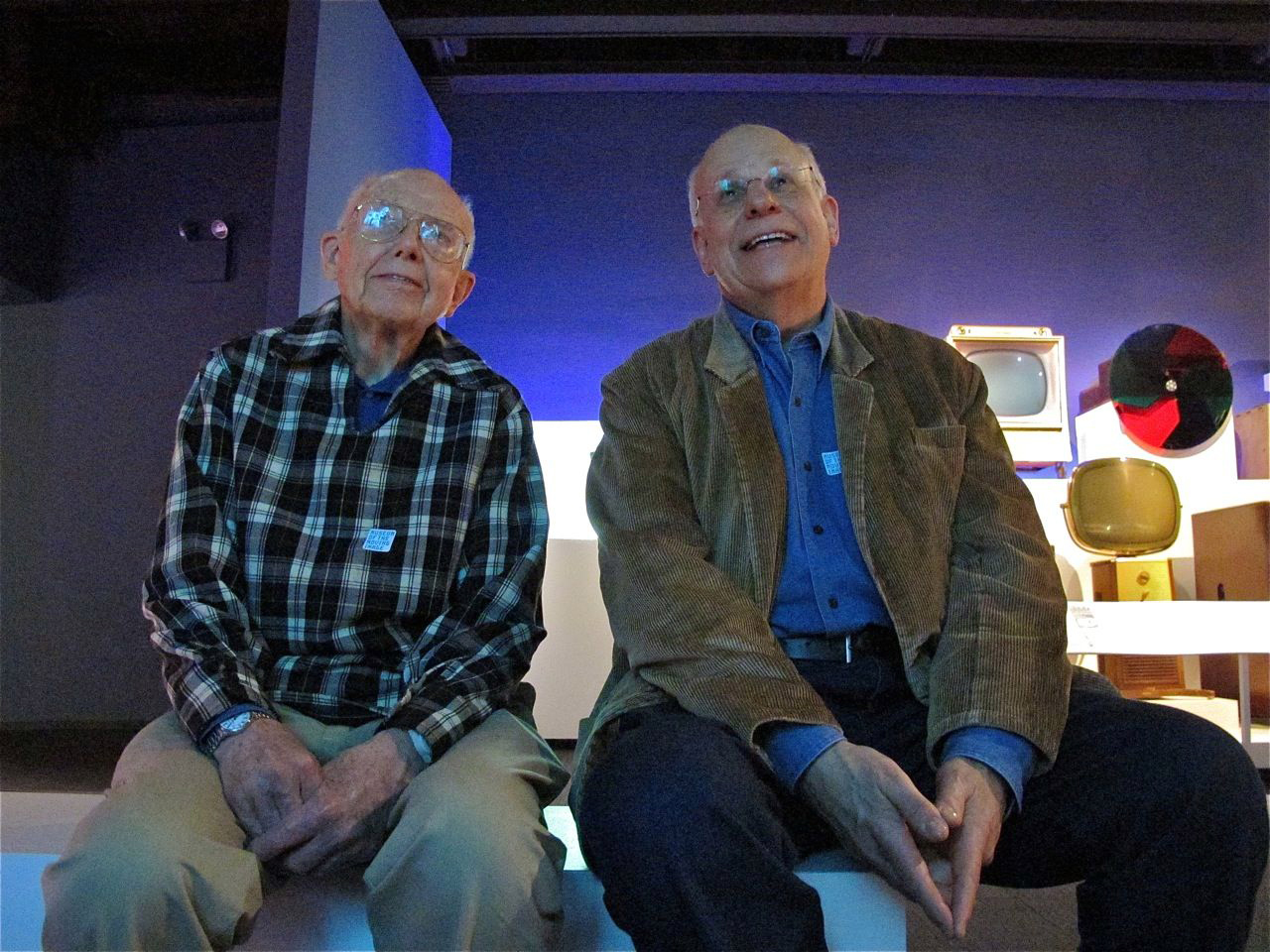 IMG_7891 Howard Weinberg & George Stoney.jpg