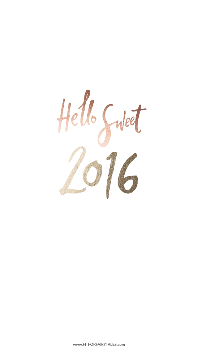 Hello 2016 Wallpaper