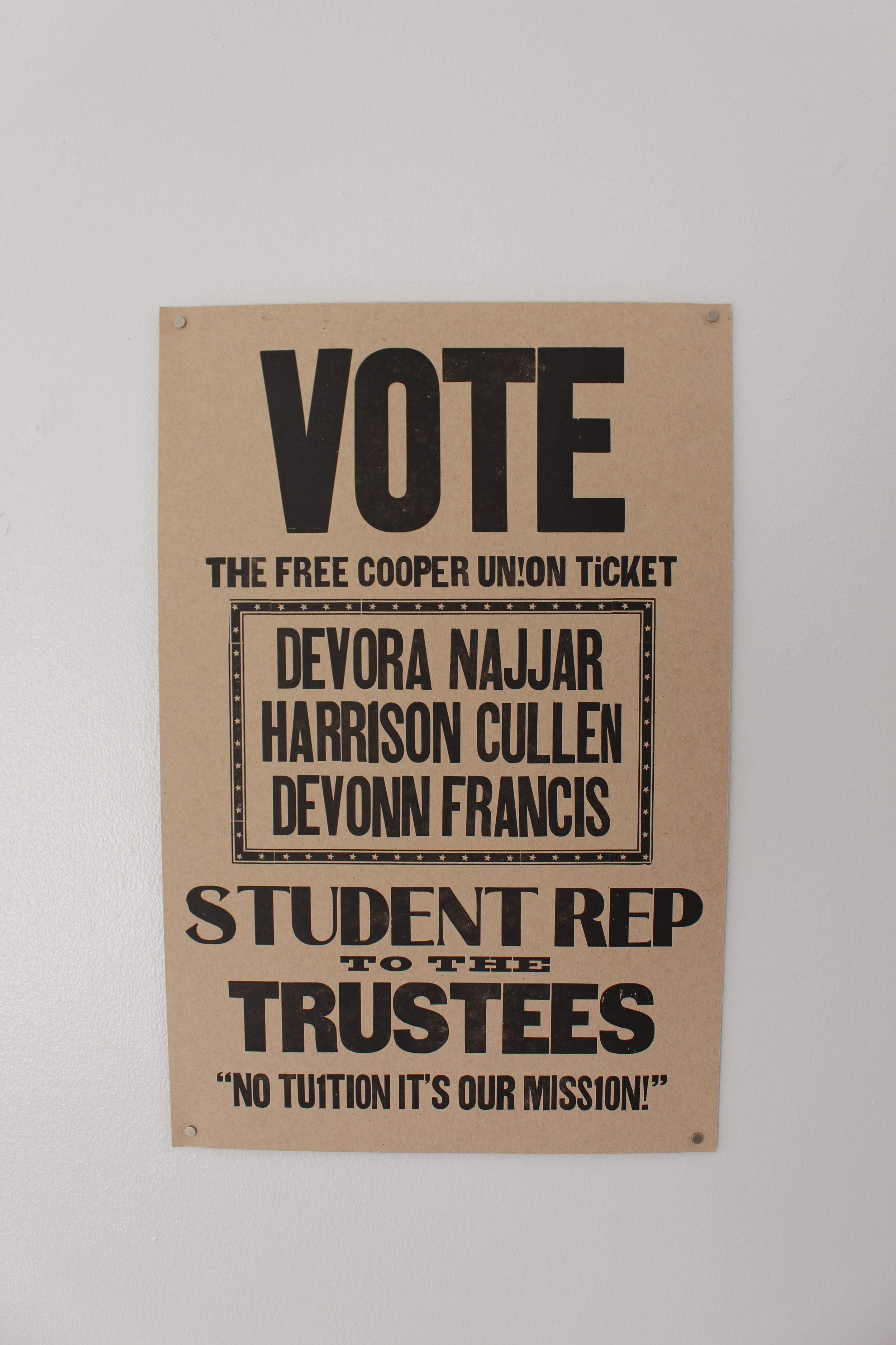 VOTE FREE COOPER