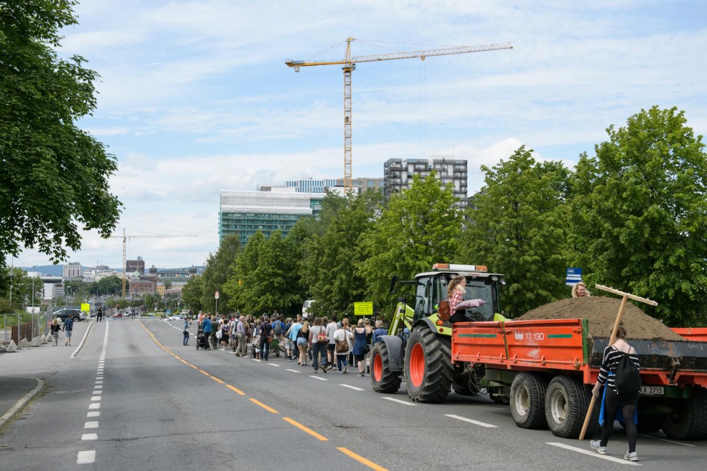 Flatbread Society Soil Procession