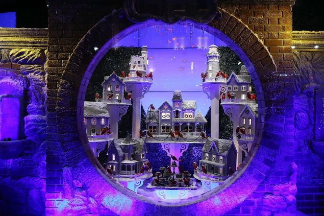 Lord & Taylor's 2014 window display. (Photo via Lord & Taylor)