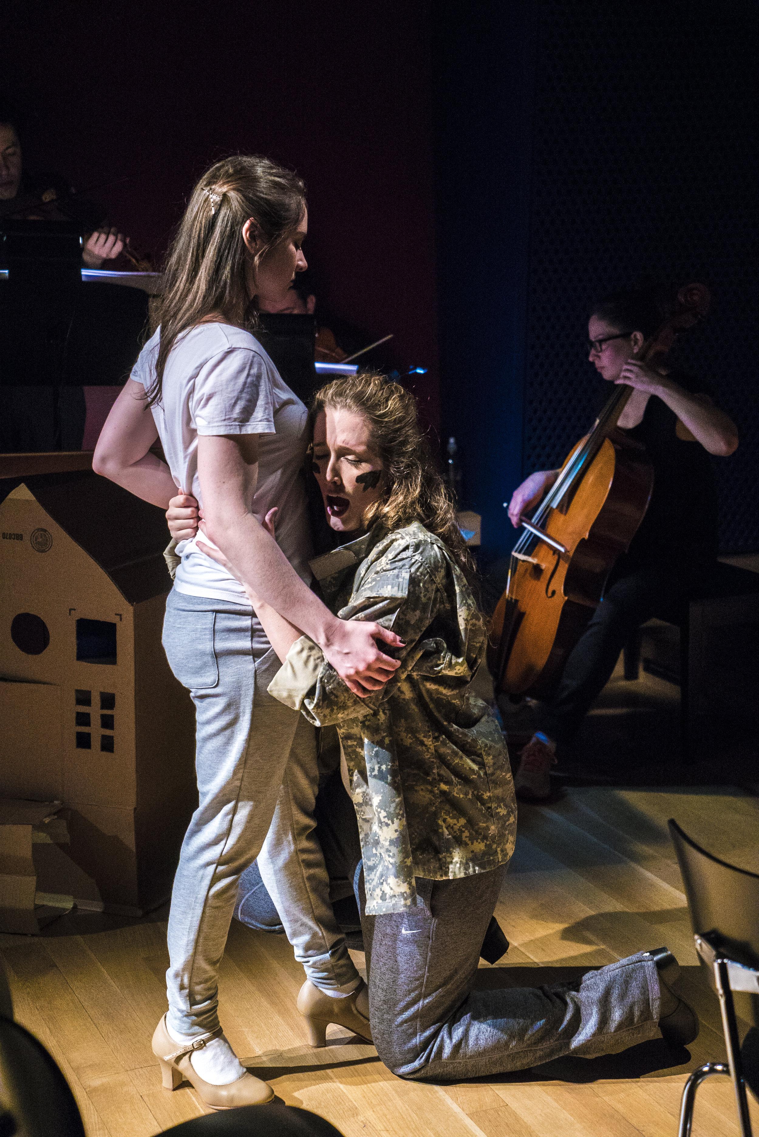 Marisa Karchin, Kimberly Hann. Photo credit: Lucas Godlewski