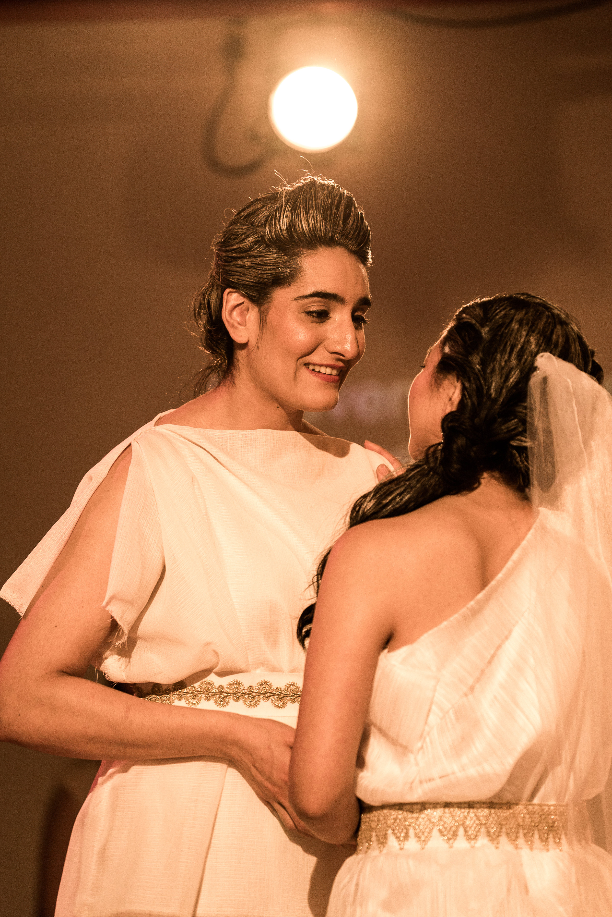Aumna Iqbal as Orfeo in Euridice. Photo credit: Lucas Godlewski