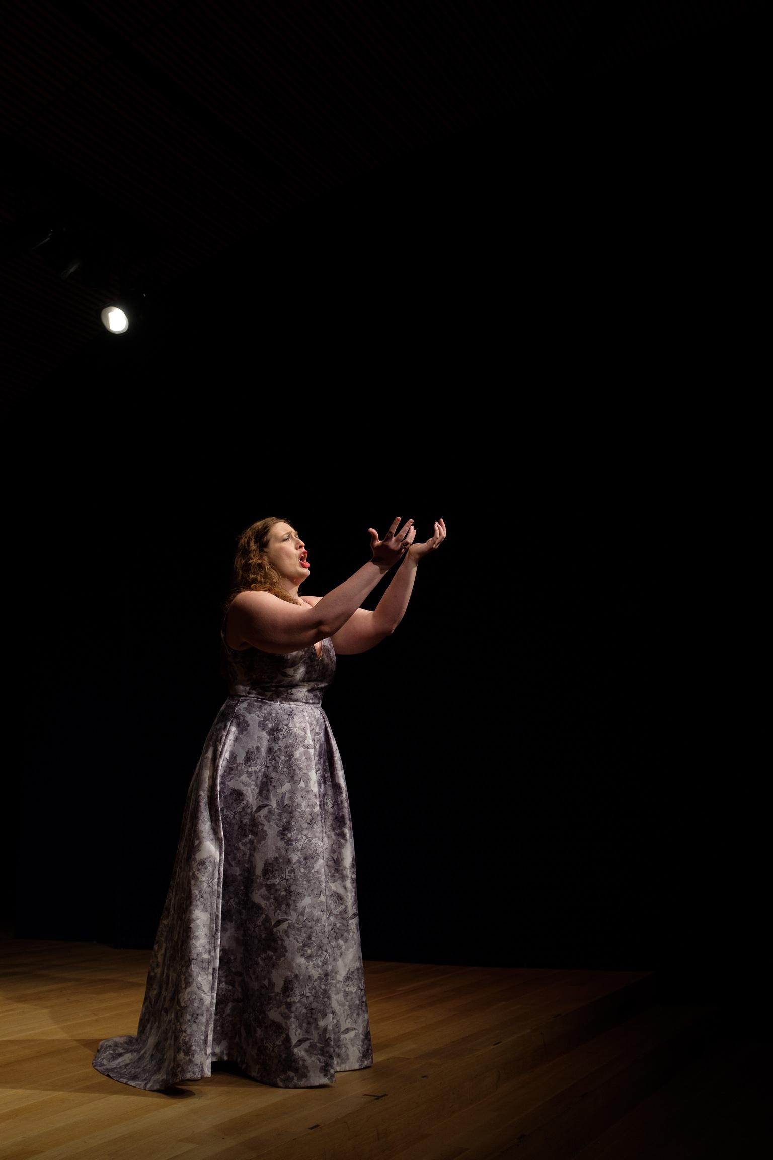 Recital at Opera America.