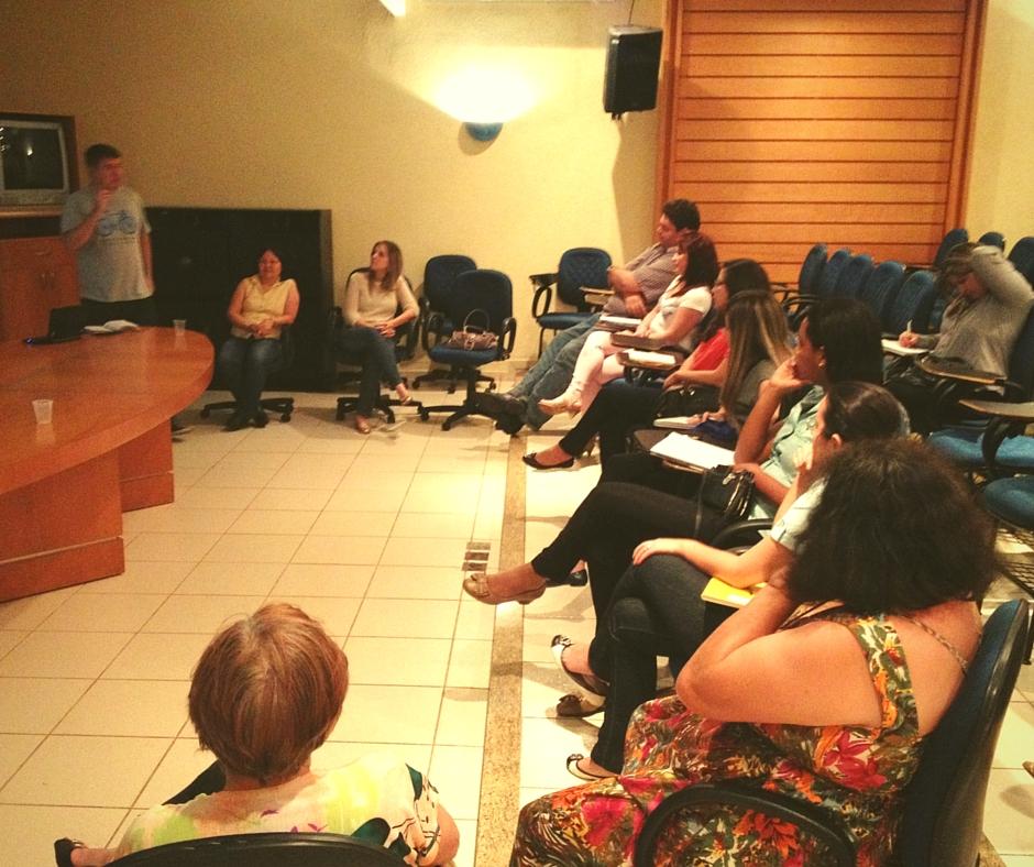 workshop realizado dia 15/09 no auditório do SESI Maringá
