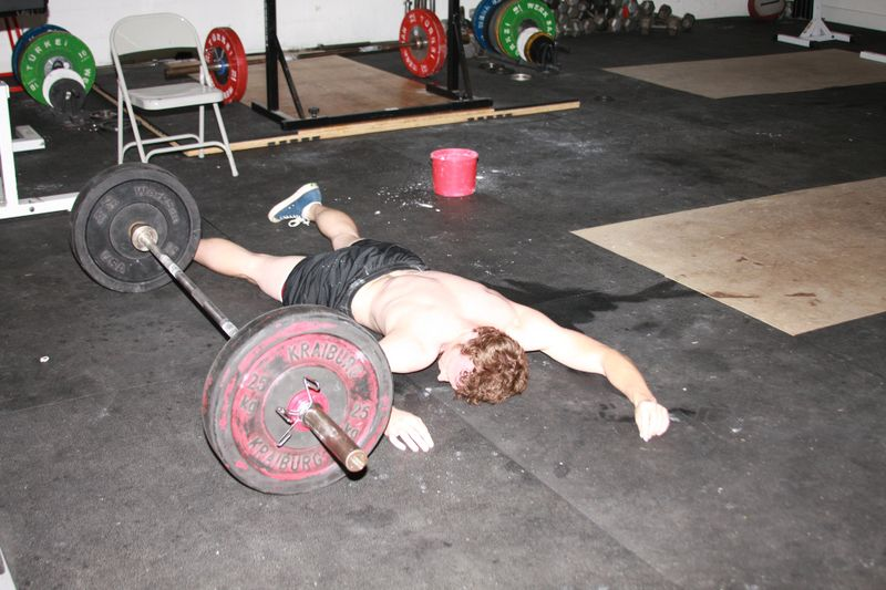You may be missing the point of training if you're always napping after the Workout of the Day.