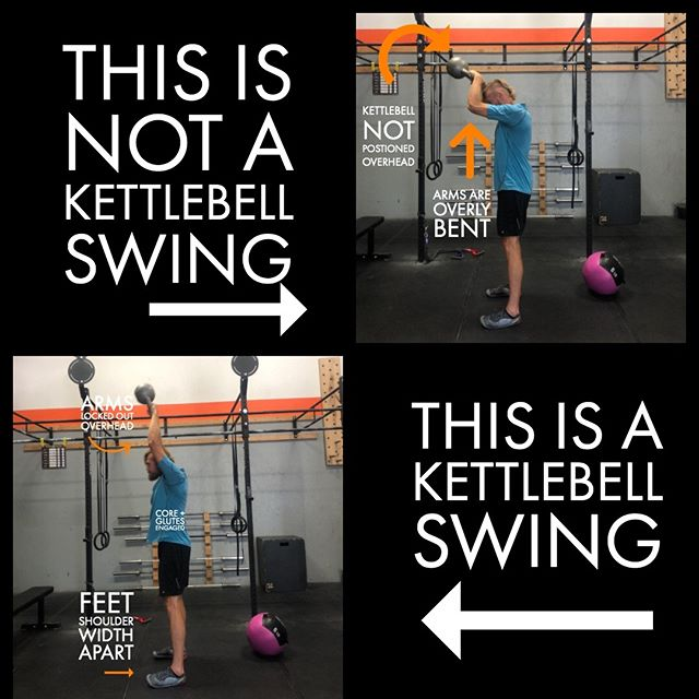 Struggling with American Kettlebell swings?  We've all been there! Proper form and movement is a valuable tool in preventing injury or strain. Check out this photo below for some tips on how to get the best version of this movement 👇🏻 Are you ready to get started? Book your No Sweat Intro here or the link in the bio!  http://www.crossfitsandpoint.com/gettingstarted . . #crossfit #sandpoint #7b #fitfam #fitness #strengthandconditioning #getacoachnotagym #7bliving #northidaho #fitness #nutrition #precisionnutritioncoach #macrolifestyle #flexibledieting #protein #twobrainbusiness #makefitnessfun #functionalfitness #levelmethod #bestofbonnercounty #crossfitsandoint