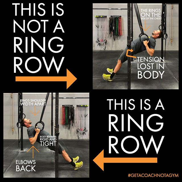 "This Technique Thursday is dedicated to a move we practice often, also a move that can produce some very odd shapes if done incorrectly. ⁠ ⁠ Ring Rows, AKA, the ""Wet Noodle"" move, and although we do appreciate wet noodles in the form of pasta, It's not something that you want to look like while doing a ring row.  Tension should be kept tight throughout the body!⁠ ⁠ So check out our graphic, and don't be a ""Wet Noodle""😉⁠ Are you ready to get started? ⁠ Book your No Sweat Intro here or the link in the bio! ⁠ http://www.crossfitsandpoint.com/gettingstarted⁠ .⁠ .⁠ #crossfit #sandpoint #7b #fitfam #fitness #strengthandconditioning #getacoachnotagym #7bliving #northidaho #fitness #nutrition #precisionnutritioncoach #macrolifestyle #flexibledieting #protein #twobrainbusiness #makefitnessfun #functionalfitness"