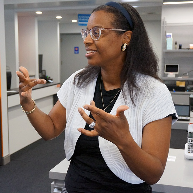 Sign Language - Licensed interpreters available 24/7.