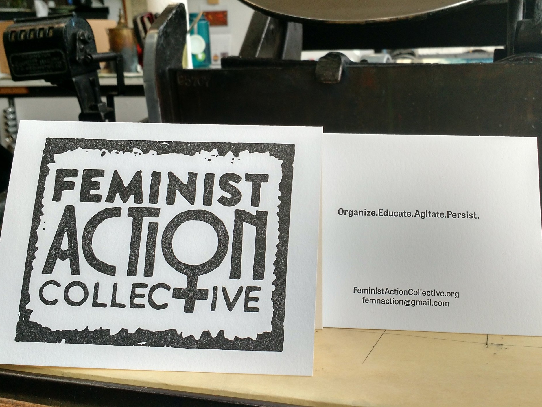 Feminist Action Collective Card
