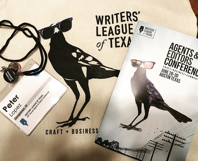 Day 1 of @writersleagueoftexas 2019 Agents & Editors Conference was a blast. Ready for Day 2. #wltcon2019 #writerslife #atx