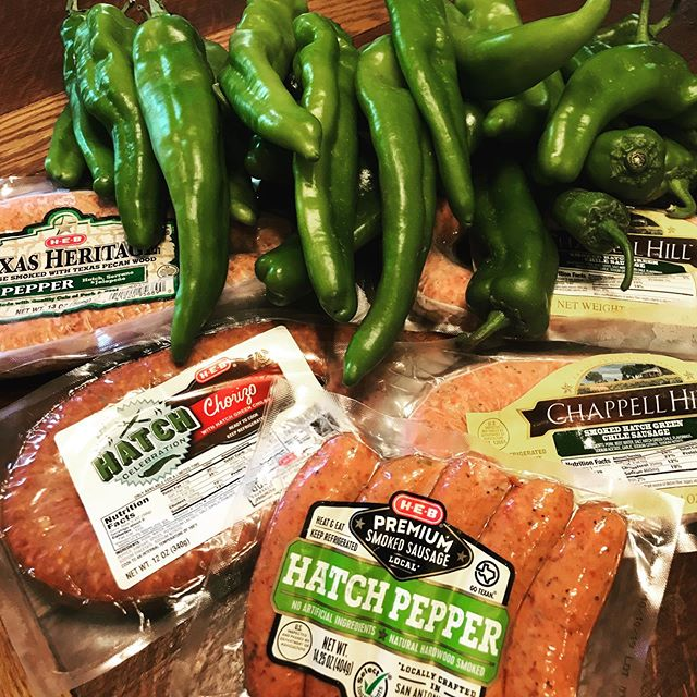 I just might have enough Hatch Green Chile stuff to last through the weekend. Maybe. #hatchgreenchile #mostwonderfultimeoftheyear #lovehatchgreenchile