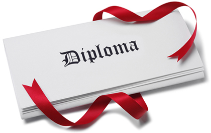 passing  5 nysed regents exams=diploma!