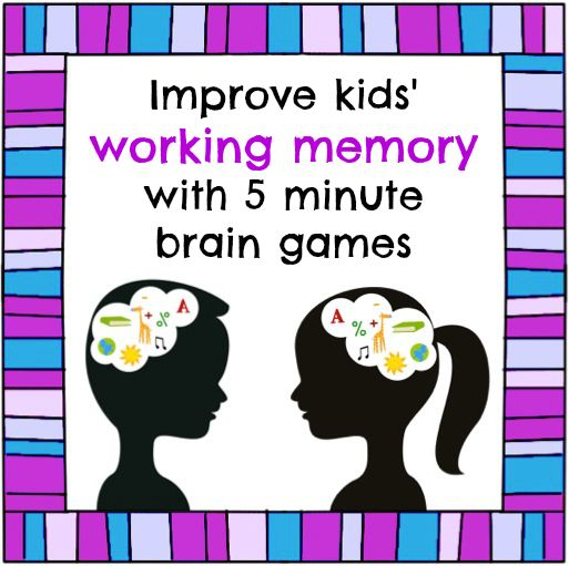 Don't forget traditional memory games!