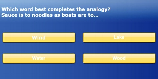 IQ Exam.org Test Online - Sample Question
