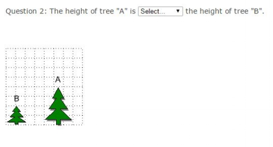 Common Core Math Examples - Measurement and Data Sample question