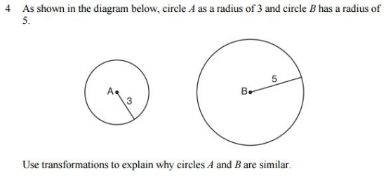 Common Core Math Examples - Geometry Sample Question