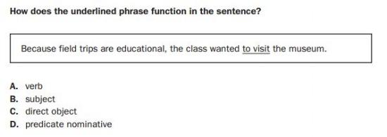 Georgia Milestones Practice Test -8th Grade Language sample