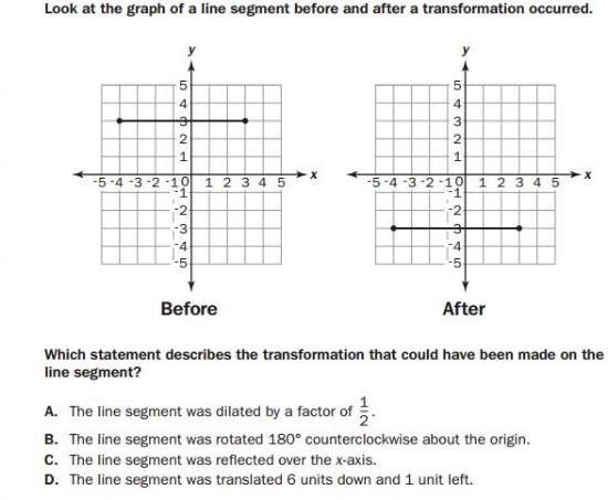 gmas -8th Grade Geometry sample