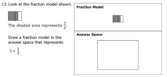 SBAC - 5th Grade - Fractions sample