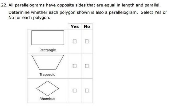 SBAC - 5th Grade - Classification sample