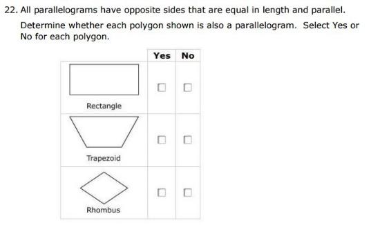 Smarter Balanced Practice Test- 5th grade Categorizing sample