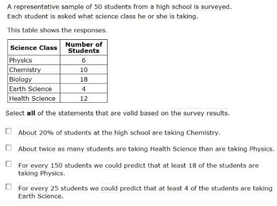 Smarter Balanced Practice Test PDFs - 7th gradeRandom Sampling sample