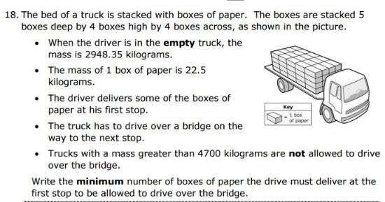 5th gradeProblem Solving sample