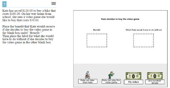 OAKS Practice Test Online -5th gradeEconomics sample