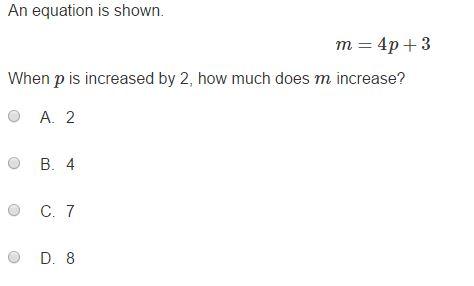 MCA Practice Test  -8th Algebra sample