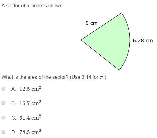 MCA Practice Test  - 7th Geometry sample