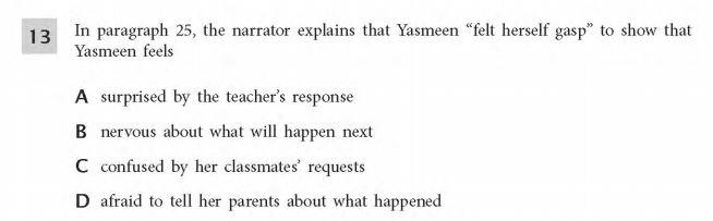 ELA Practice Test 5th Grade  -Narrator sample