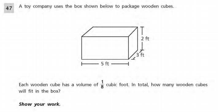 NYS Math Practice Test 5th Grade -Short Responses 1 sample