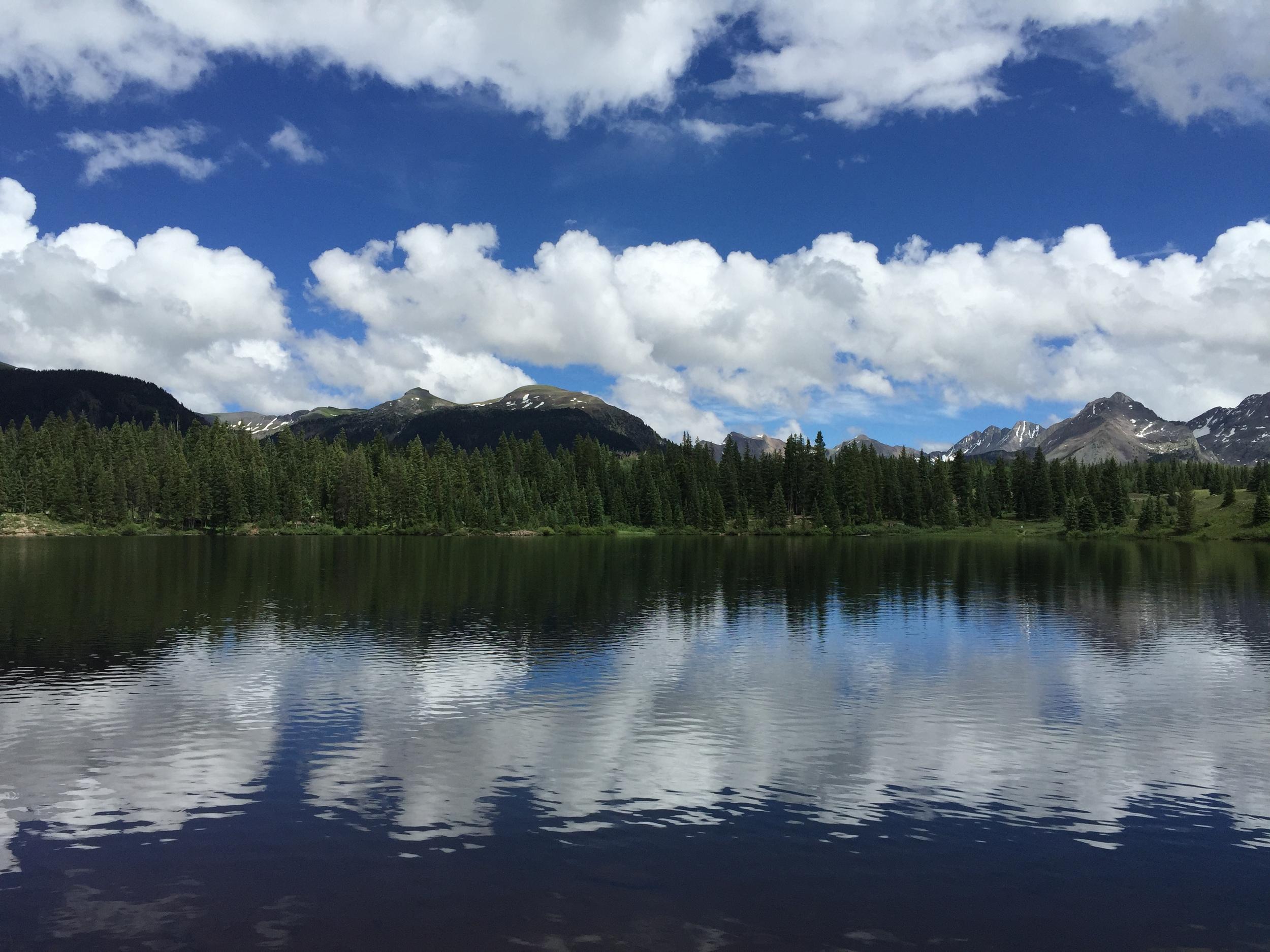 Nicoles Lake Reflections