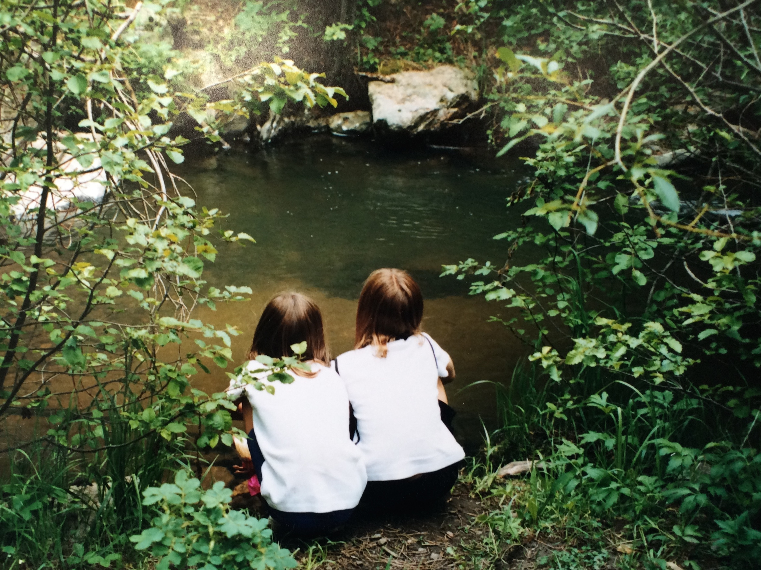 jani sisters at pond.jpg
