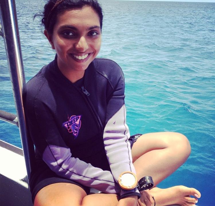 ARTIST,Janavi Mahimtura Folmsbee, JMF  Turks & Caicos Dive Trip.
