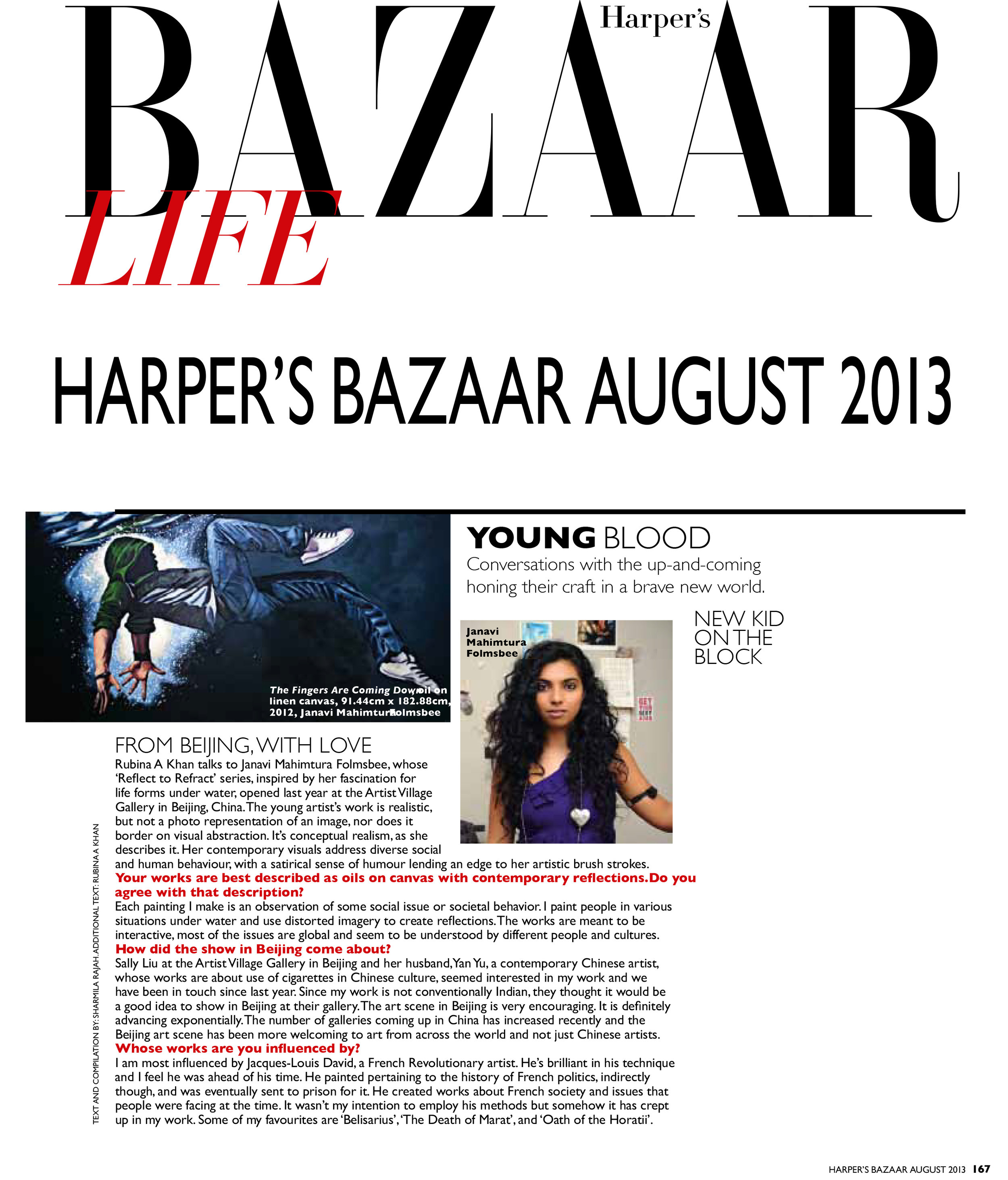 - HARPER'S BAZAAR - MALASIA 2013