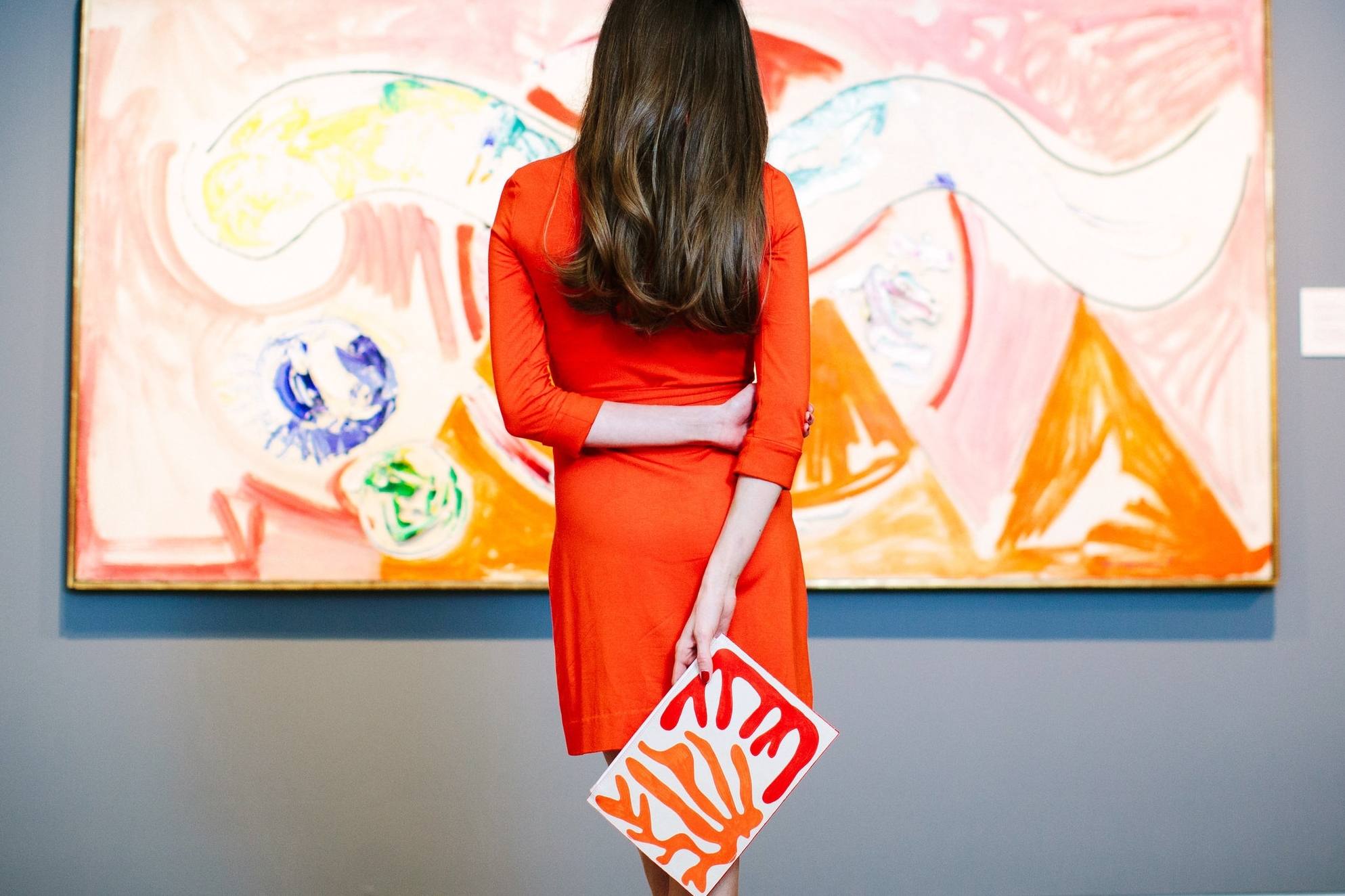 Hans Hofmann, Undulating Expanse , 1955, Oil on Canvas. Ackland Art Museum, The University of North Carolina at Chapel Hill. Ackland Fund, 88.27  The Cherry Red Clutch